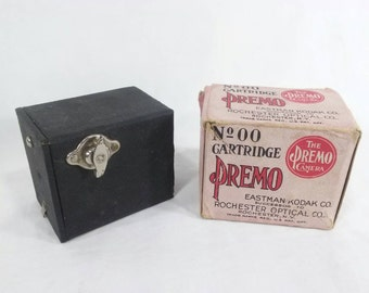 No. 00 cartridge premo Eastman Kodak small box camera in original box mini