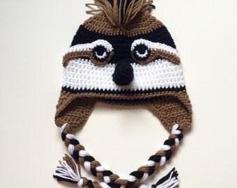 Bobwhite quail crochet hat