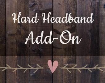 Hard Headband add on listing