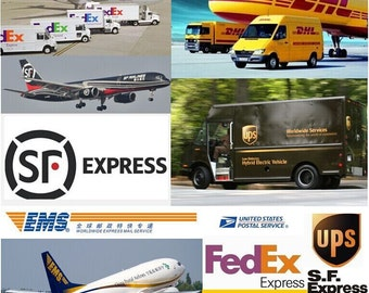 Extra postage for Express Shipping , 3-5 working days and 5-7 working days are available.
