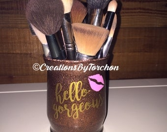 Glitter Make Up Brush Holder