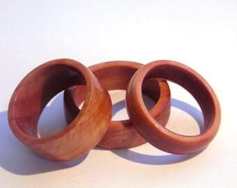 wood wedding ring, wood ring, Juniper solid wood ring, green wedding ring, wooden wedding band, handmade wood ring, wood grain ring