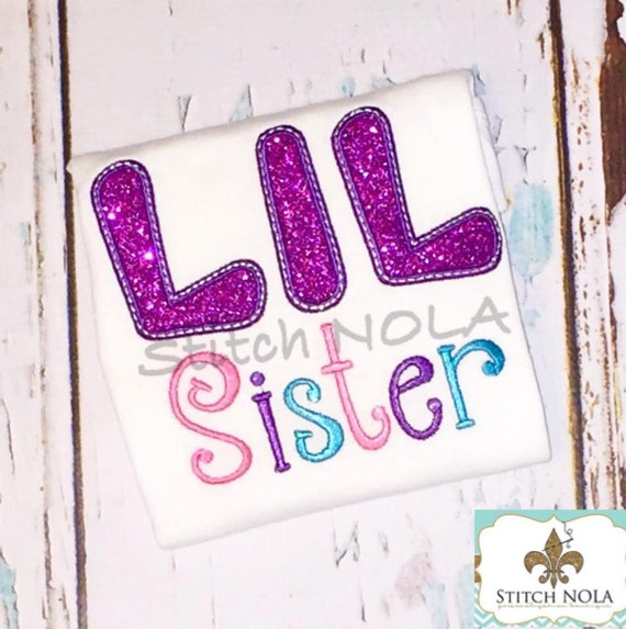 BIG/LIL Sister/BROTHER Shirt or Bodysuit