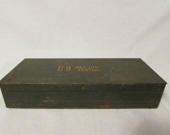 Metal Tool Box, Small, Rectangular, 1960's - 1970's