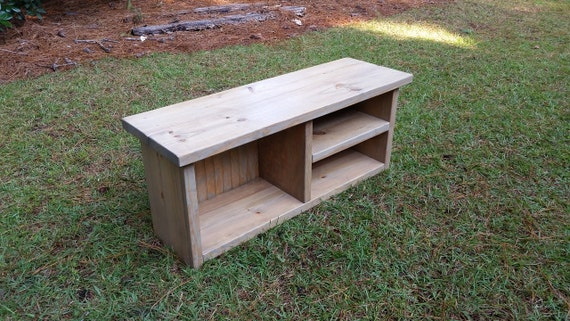 Rustic Mudroom Bench Shoe And Boot Bench By Coastaloakdesigns