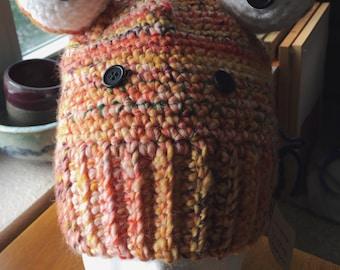 Crocheted Froggy Hat