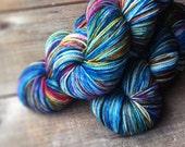 CONFETTI American Sock, yarn, superwash merino, American made, knitting, sock yarn, wool