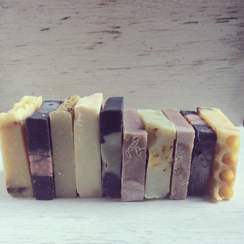Natural bar soaps