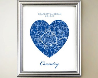 Coventry Heart Map
