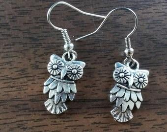 Pretty owl earrings