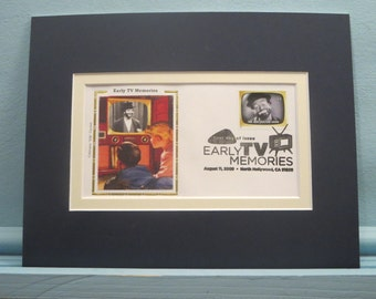 The Red Skelton Show & First Day Cover of its own stamp