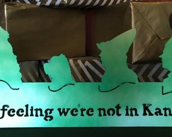 I've got a feeling we're not in Kansas anymore!