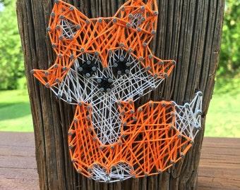 Small Fox String Art