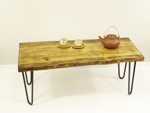 get 10% off hairpin leg table live edge coffee table