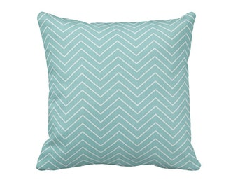 Light Blue Pillow Covers Blue Throw Pillows Sofa Decorative Pillows for Couch Blue Chevron Pillows 20x20 Pillows 15x15 Pillows Accent Pillow