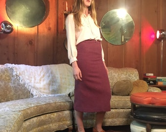 Need for Tweed 80's London Pencil Skirt