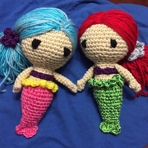 Amigurumi Little Mermaid : Amigurumi Little Mermaid