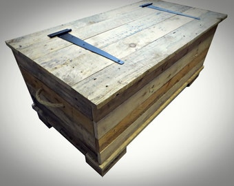 Large Trunk - Natural Wood - add your own finish
