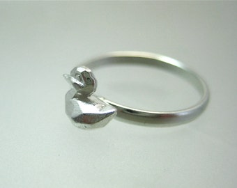 Geometric Duck Ring