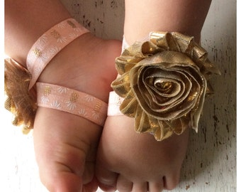 Barefoot sandals; baby barefoot sandals; gold pineapple sandal; toddler barefoot sandal; sandal