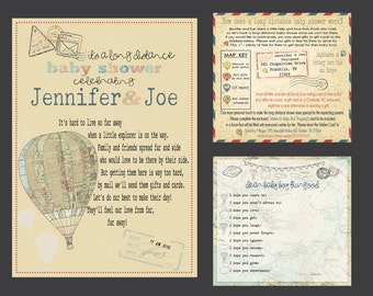 digital invitations and printable designs by jsdesigns on etsy, Baby shower invitations