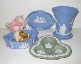 Wedgewood /Blue and Green/ Jasperwear/ Porcelain