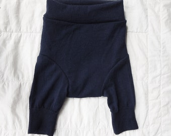 Navy Blue Shorties - LARGE