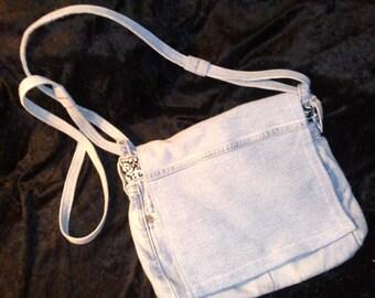 Swirls Book Bag/Messenger Bag