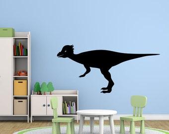 Pachycephalosaurus Prehistoric Dinosaur Vinyl Wall Decal