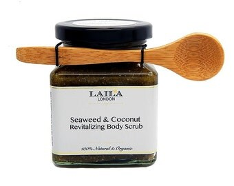 Dead Sea Salt Seaweed and Coconut Body Scrub
