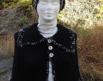 Knitted shrug and Basque