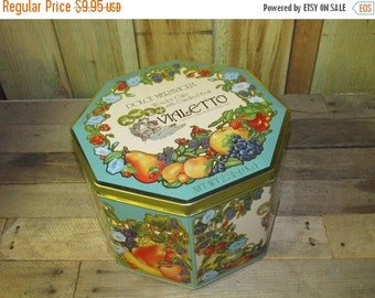ON SALE NOW Empty Vialetto Tin Cookie Candy Cake Tin