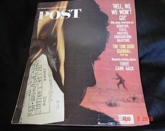The Saturday Evening Post January 27 1968