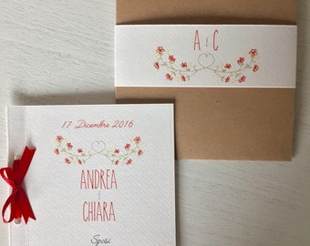 Cherry branch WEDDING INVITATION