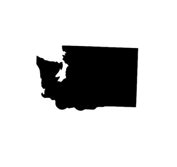 Washington State Silhouette