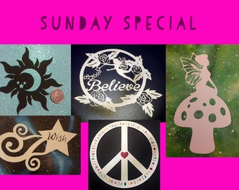 Papercutting Template Bundle - Sunday Special - 5 brand new templates - pdf-jpeg-psd files - commercial/selling rights included