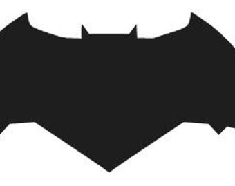 Dawn of Justice BATMAN LOGO Vinyl Decal Sticker Choose Size and Color Free Shipping