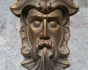 """Nature Greenman French Green man wall relief www.Neo-Mfg.com 11"""""""