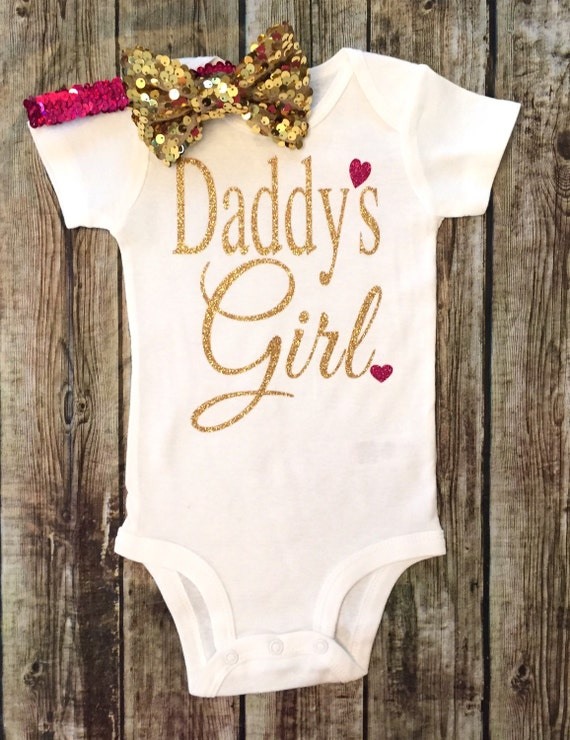 Daddy S Girl Bodysuit Baby Girl Daddy S Girl