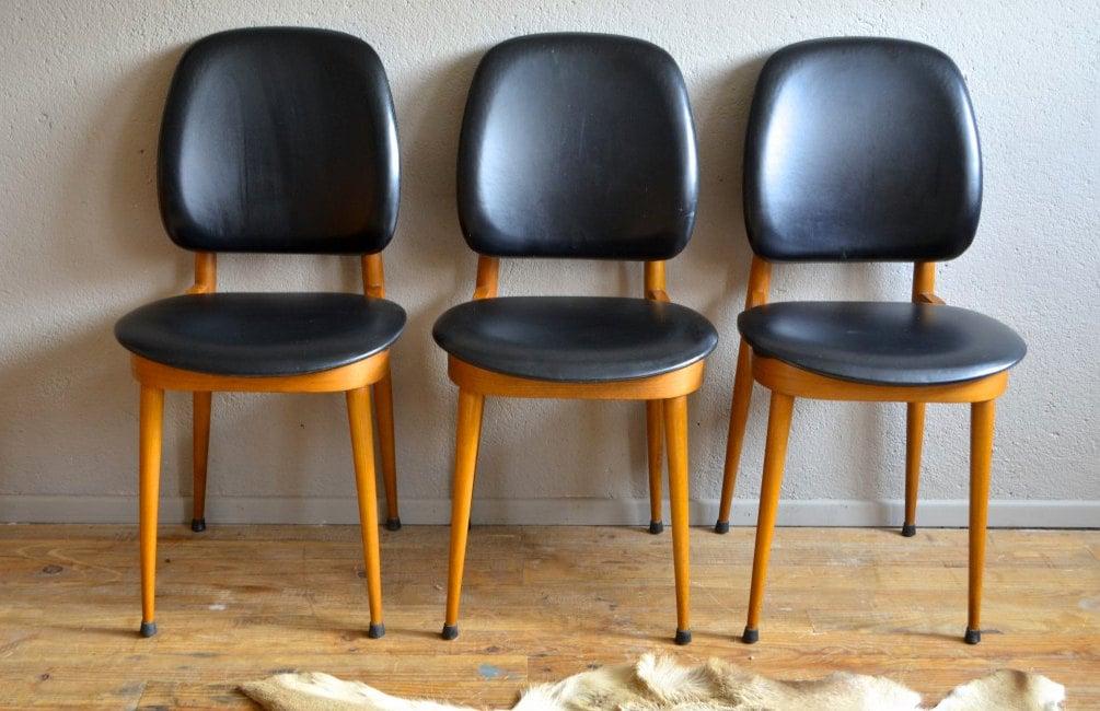 chaise guariche vintage r tro ann es 60 design scandinave. Black Bedroom Furniture Sets. Home Design Ideas