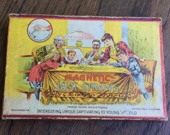 Vintage Magnetic Jack Straws Game