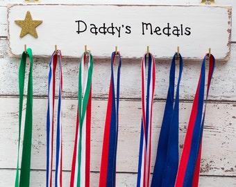 Medal Hanger /Running Medal Holder/Personalised Medal Holder/Medal Rack/Marathon Runners/ race Medal Holder/Sports Gift/Swimming medals