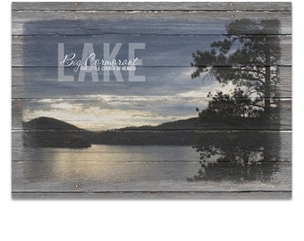Lake House Wall Art mint green canvas lake house decor large ocean wall art
