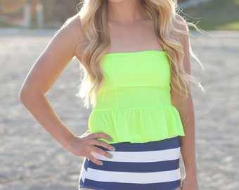 Bright Tankini Swimsuit