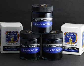Private Reserve fountain pen ink