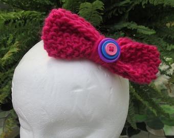 """5"""" Hot Pink Hair Bow"""