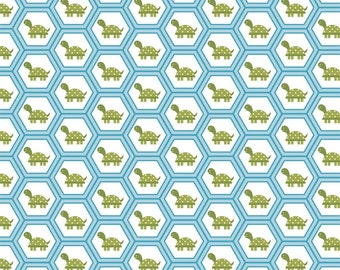 Fine and Dandy Turtle Hexi Fabric