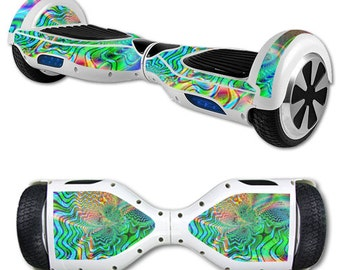 Skin Decal Wrap for Self Balancing Scooter Hoverboard unicycle Psychedelic