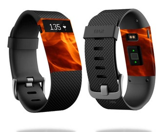 Skin Decal Wrap for Fitbit Blaze, Charge, Charge HR, Surge Watch cover sticker Backdraft