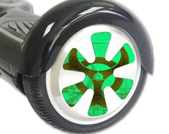 Skin Decal Wrap for Hoverboard Balance Board Scooter Wheels Biohazard